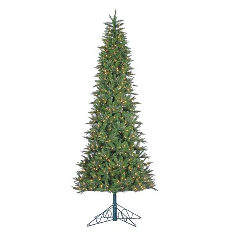 9 foot christmas tree with power pole sterling 10 ft indoor pre lit cut salem spruce artificial tree with power