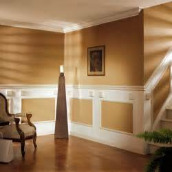 Home Interior Wall Design by Cozy Wall Decorating Ideas Using Panel Moldings Motiq