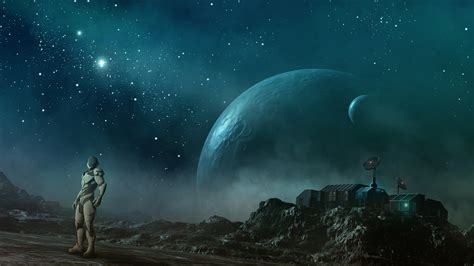wallpaper future earth interstellar station wallpapers hd