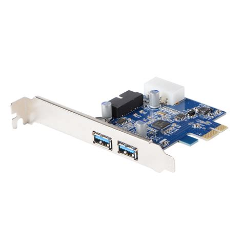 Port Usb Card pci express to 2 ports usb 3 0 card converter chip d720202