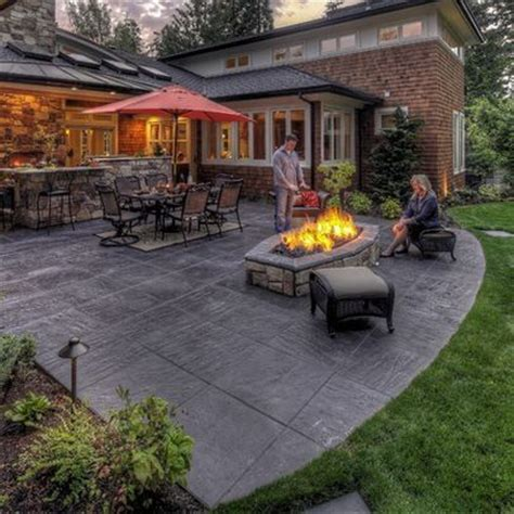 concrete patio design pictures best 25 sted concrete patios ideas on