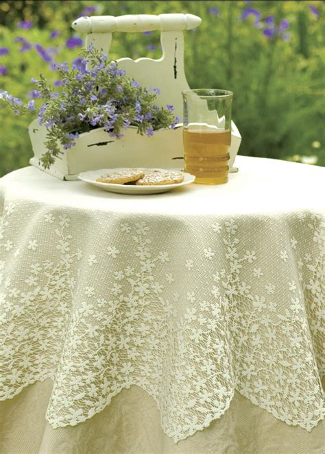 heritage lace table topper lace wedding table fall