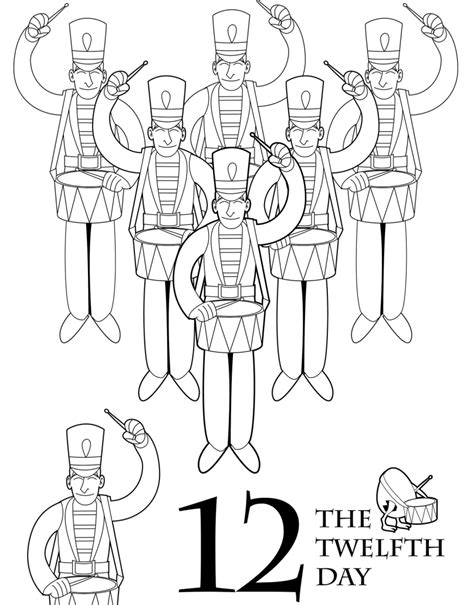 the 12 days of christmas coloring book parents