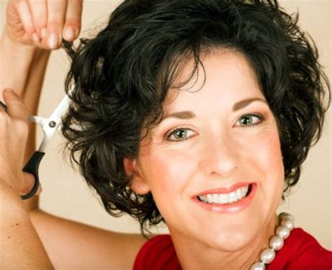 natural curly hairstyles for over 50 short haircuts for women over 50 the best flattering