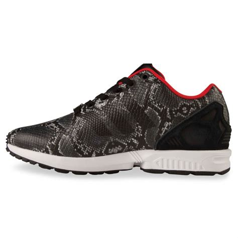 Adidas Zx Flux Torsion Made In Import Greey adidas zx flux womens black tomato snake hype dc