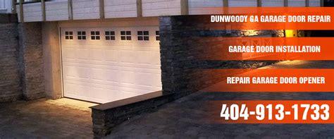 dunwoody garage door
