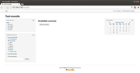 setup ubuntu web server 14 04 how to install moodle on ubuntu 14 04