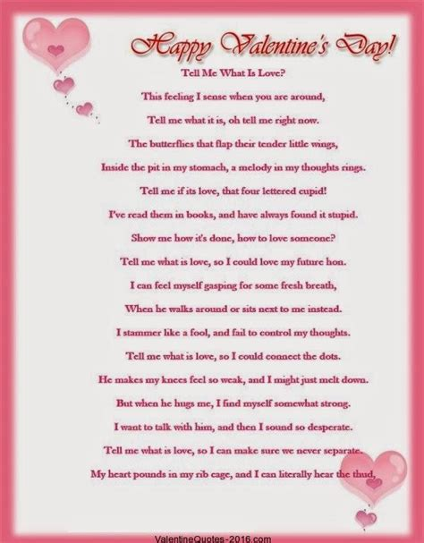 valentines day poem for valentines day poems quotes 2016