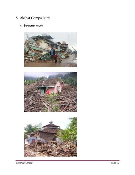 membuat makalah gempa bumi makalah gempa