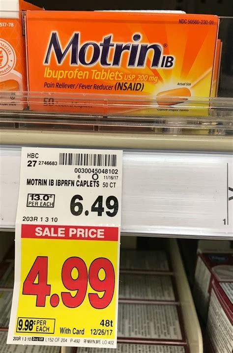 Ibuprofen Shelf by Motrin Ib Ibuprofen Tablets Just 2 49 At Kroger Reg