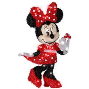 shop gemmy 2 56 ft minnie mouse outdoor christmas