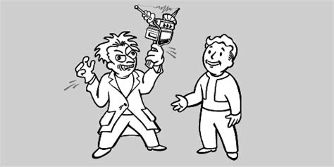 vault boy coloring page free coloring pages of vaultboy