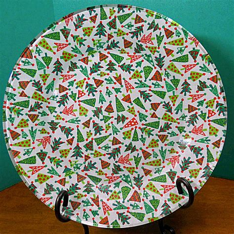Decoupage Plates With Fabric - unavailable listing on etsy