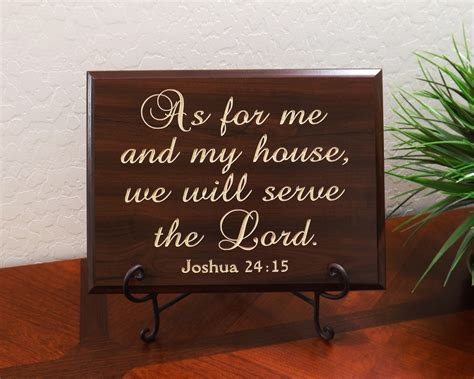 as for me and my house as for me and my house we will serve the lord joshua 24 15