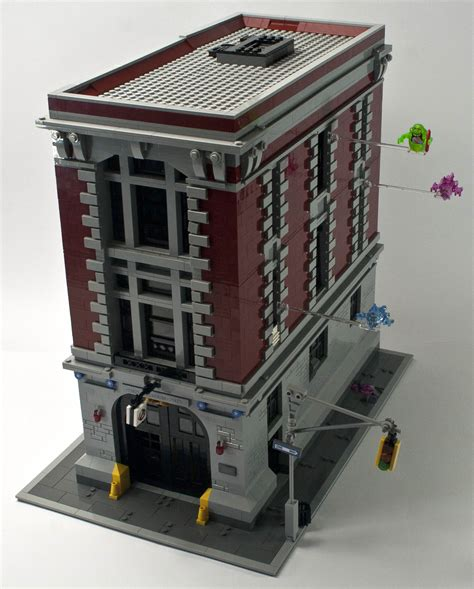 Lego 75827 Firehouse Headquarters review 75827 ghostbusters firehouse headquarters