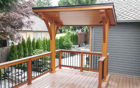 Patios By B And B by Covered Bbq Area In Deck Search Decks And