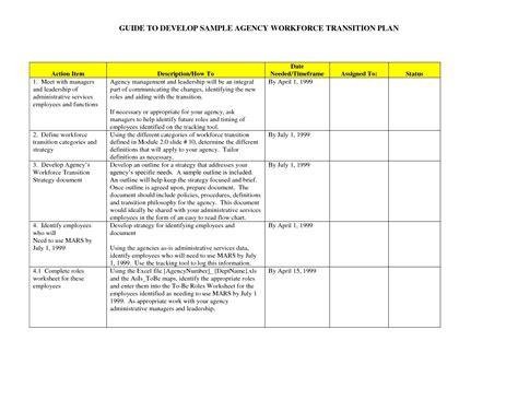Business Work Plan Template