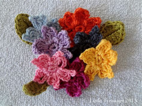 crochet pattern website little treasures adenium free crochet flower tutorial