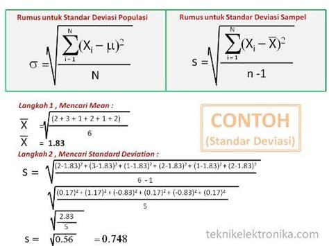 Rumus Dan Data Dalam Aplikasi Statistika penggunaan statistika dasar dalam produksi