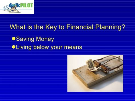 Mba Financial Planning by C Golotko Cpa Pfs Mba