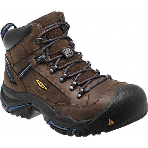 keen steel toe work boots keen 1012771 braddock usa mid leather waterproof steel toe