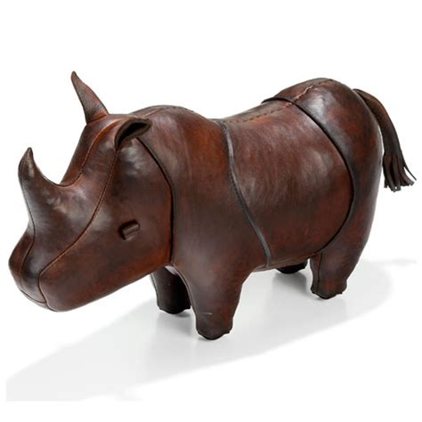 Rhino Handmade - handmade leather rhino small the present finder