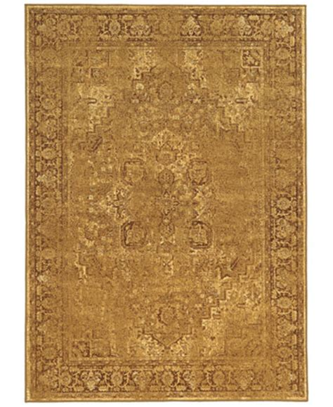 kenneth mink area rug kenneth mink spectrum mod heriz gold 7 10 quot x 10 10 quot area rug rugs macy s