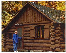 Porcupine Mountain Cabins by Porcupine Mountains State Park Union Bay Cground