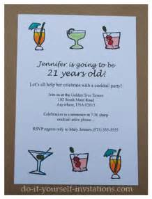 21st invite templates print and create 21st birthday invitations