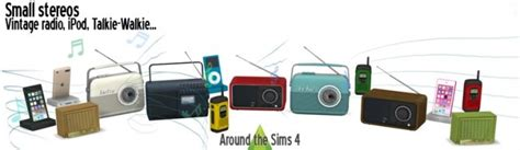 sims 4 electronics downloads sims 4 updates stereo 187 sims 4 updates 187 best ts4 cc downloads