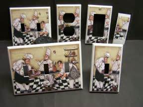 Chef Home Decor Chef Pastry And Home Decor Light Switch Cover