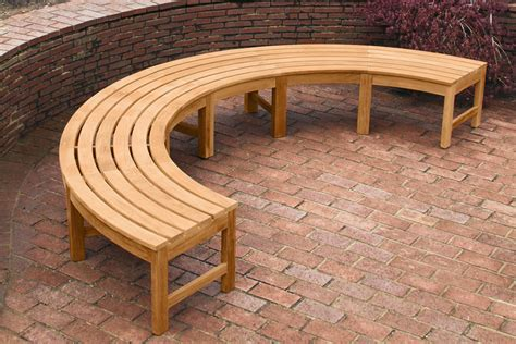 outdoor curved benches chair archives the homy design