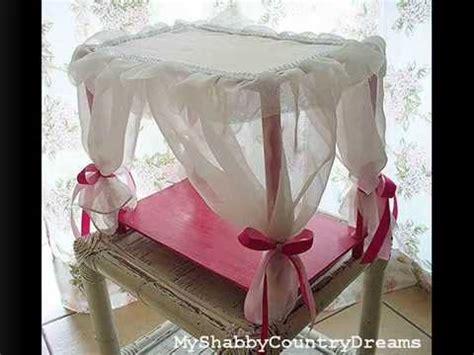 come fare un letto a baldacchino tutorial letto a baldacchino per bambole fai da te