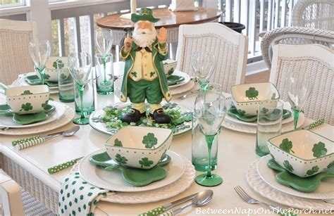 Home Decor Ebay St Patrick S Day Table Setting And Decorations