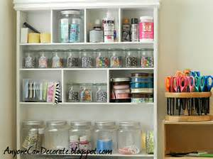 Storage Room Organization Ideas Anyone Can Decorate Craft Room Organizing Cute Storage Bins