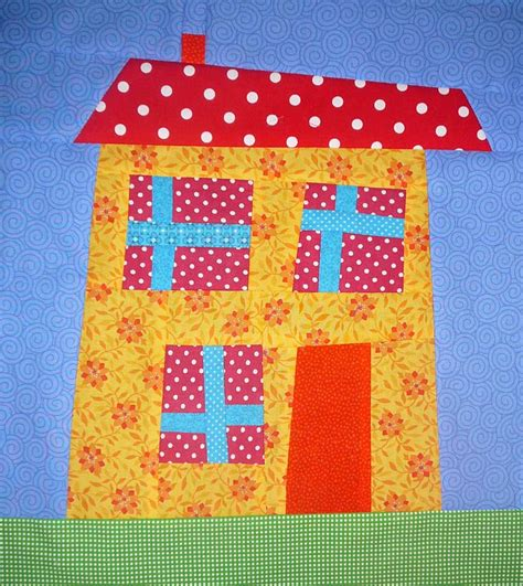 House Quilt Blocks Free by Quilt Inspiration Free Pattern Day House Quilts