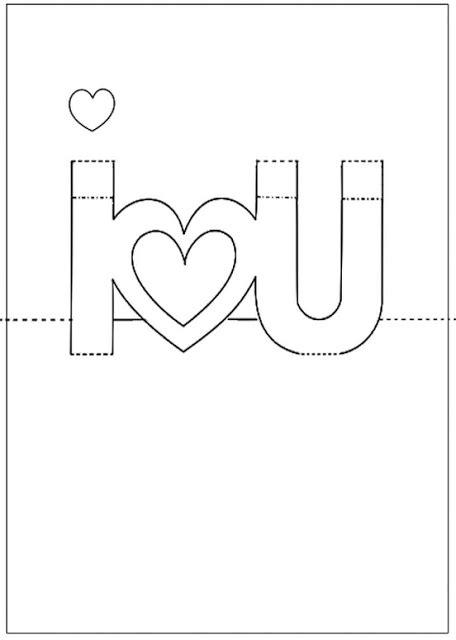 Printable 3d Birthday Card Template by Cart 227 O Para O Dia Dos Namorados Dicas Para Fazer Ou