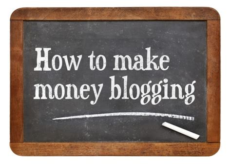How To Make Money Online Blogspot - how to make money from an online blog make money from an online business