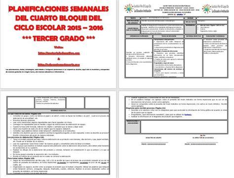 Planeaciones De Primaria 2015 2016 De Rosa Mejor | planeaciones argumentadas de primaria gratis