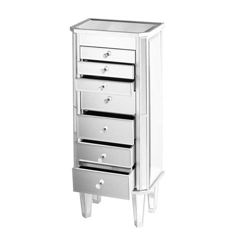 southern enterprises jewelry armoire southern enterprises margaux mirrored jewelry armoire js7512