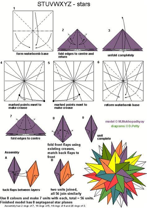Information On Origami - origami4fun stuvwxyz 8 intersecting planes