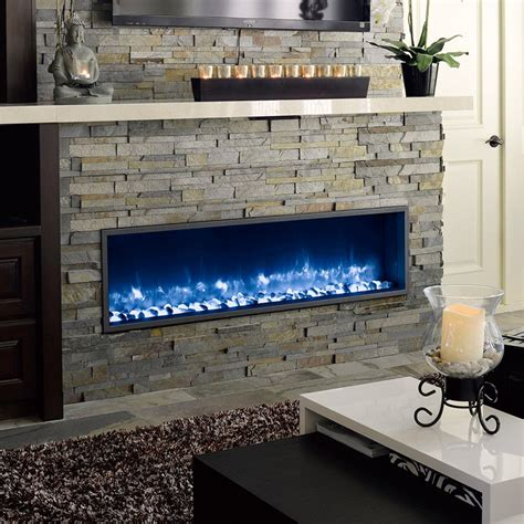 Fireplace Lighted Logs by Dynasty Built In Electric Led Fireplace Fireplace