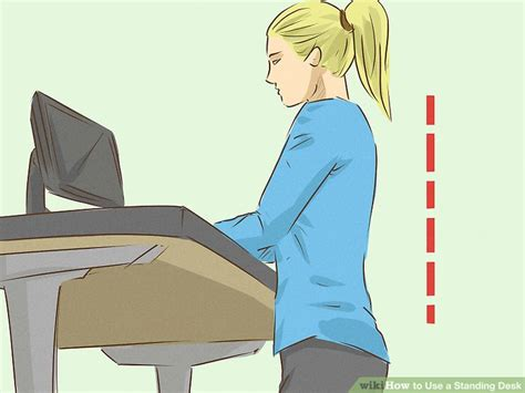 how to use a standing desk how to use a standing desk 12 steps with pictures wikihow