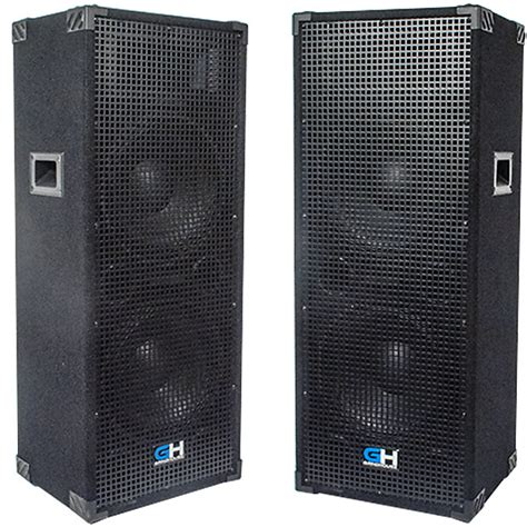 Speaker Multi Fungsi Bass Portable All In One Mitsuyama Ms 4014 2000w pair of dual 12 inch passive range pa speakers reverb
