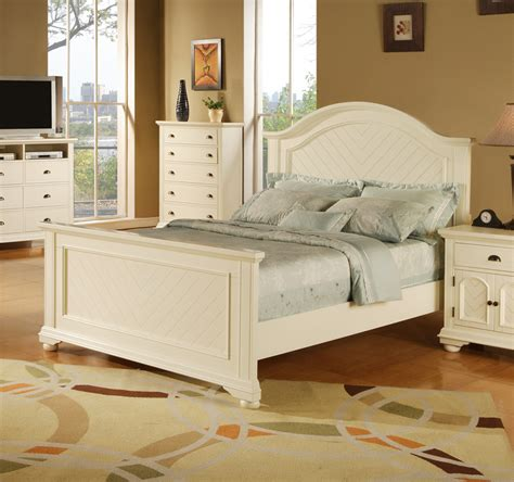 brook bedroom set brook bed white finish bp700tbw decor south