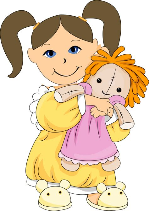 doll clipart doll clipart child pencil and in color doll