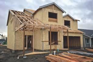 Houde Home Construction description pacific wa new house under construction 02 jpg