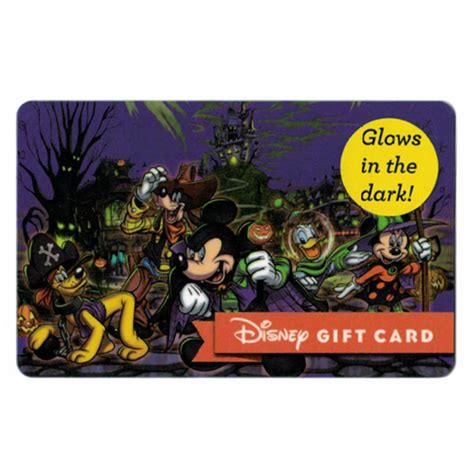 Disney Parks Gift Card - your wdw store disney collectible gift card ghoulish fun halloween parks