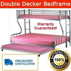 Bed Frame For Sale Sm Qoo10 Double Deck Bed Bottom Queen Size Top Single