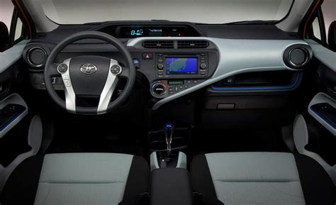 Toyota Prius 2013 Interior car and driver